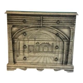 Piero Fornasetti Italian Architectural Dresser