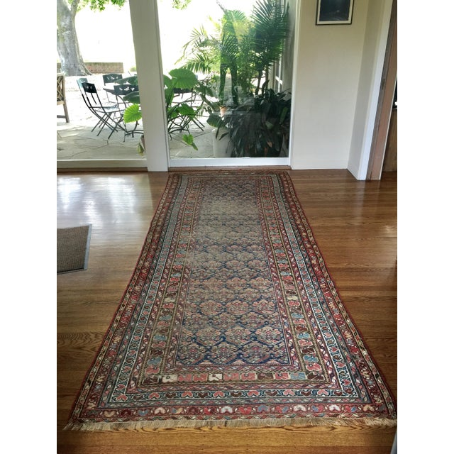 "Vintage Traditional Carpet Runner - 4'2"" x 10'4"" - Image 2 of 7"