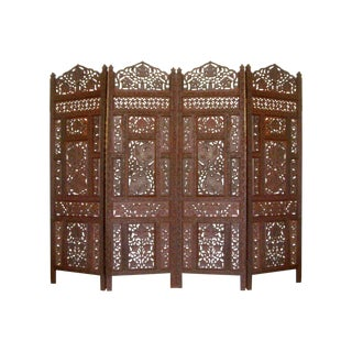 Four Panel Reverse Hinge Room Divider