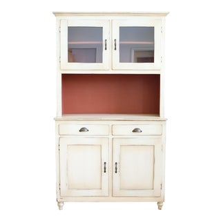 Farmhouse Rustic Cabinet Cupboards Hutch