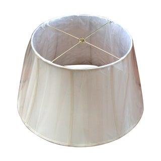 Modern Glam Kichler Cream Champagne Silk Lampshade