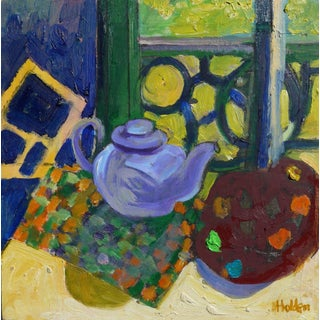"Martha Holden ""Afternoon Tea"" Painting"