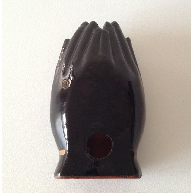 Vintage Individual Hands-Shaped Portable Ashtray - Image 7 of 8