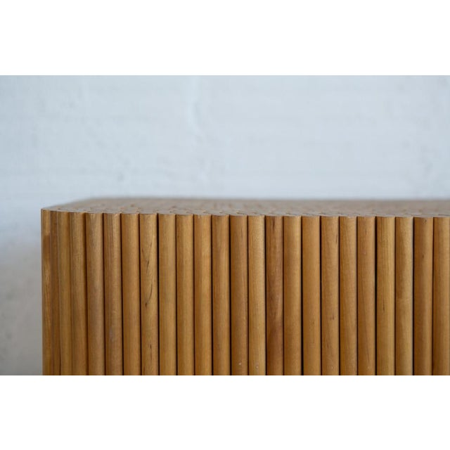 Wood Dowel Accent Table - Image 5 of 5