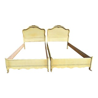 French Provincial Twin Beds - A Pair