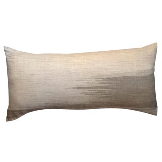 Missoni Home Textile Custom Linen Flame Stitch Bolster