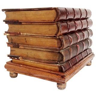 Leather Manuscript Side Table