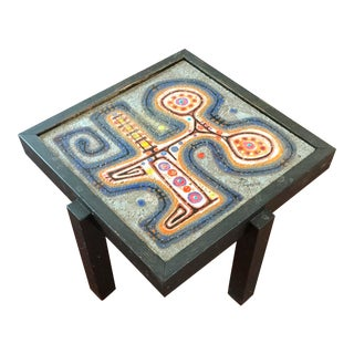 Colorful Ceramic French Table