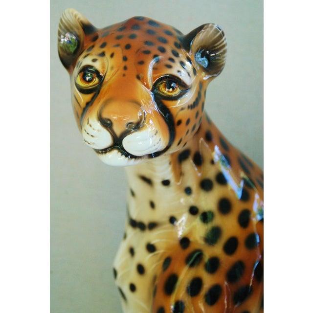 Large Hollywood Glam Mid-Century Italian Cheetah - Image 6 of 11