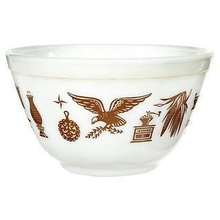 1960s Pyrex Glass Mixing Bowl
