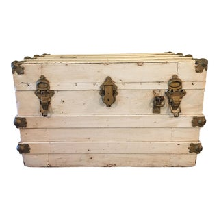 Shabby Chic Steamer Trunk