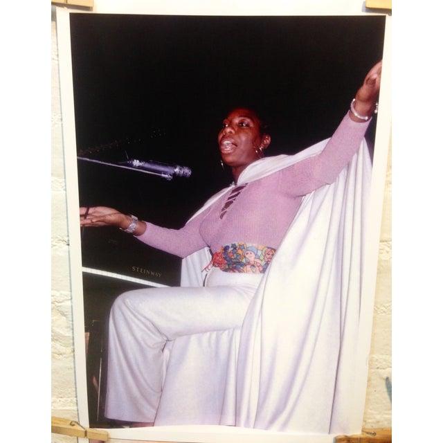 Original Nina Simone Photo, Signed - Image 2 of 2
