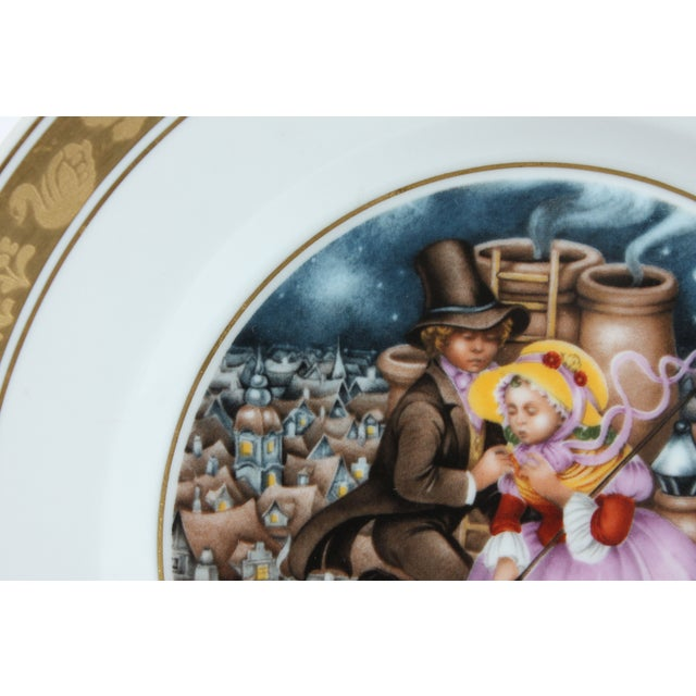 Image of H.C. Andersen Fairytale Plate - Chimney