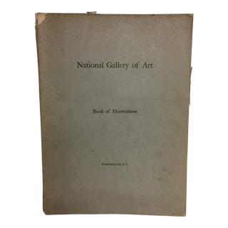 """""""National Gallery of Art: Book of Illustrations"""" 1941 Book"""