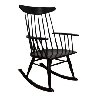 Russell Wright Black Rocking Chair
