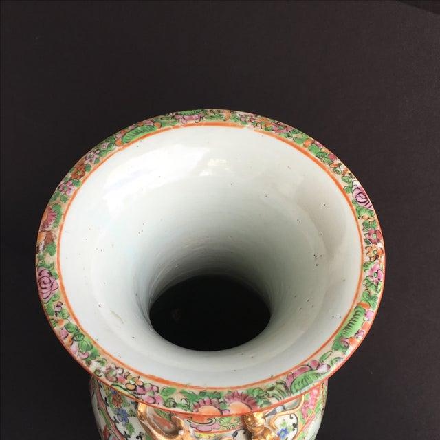 Image of Large Chinese Famille Rose Vase