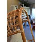 Image of Boho Chic Hanging Rattan Chair