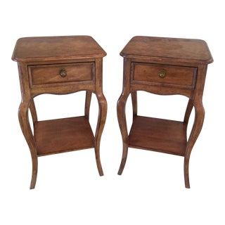 Stanley French Provincial Style Night Stands- A Pair