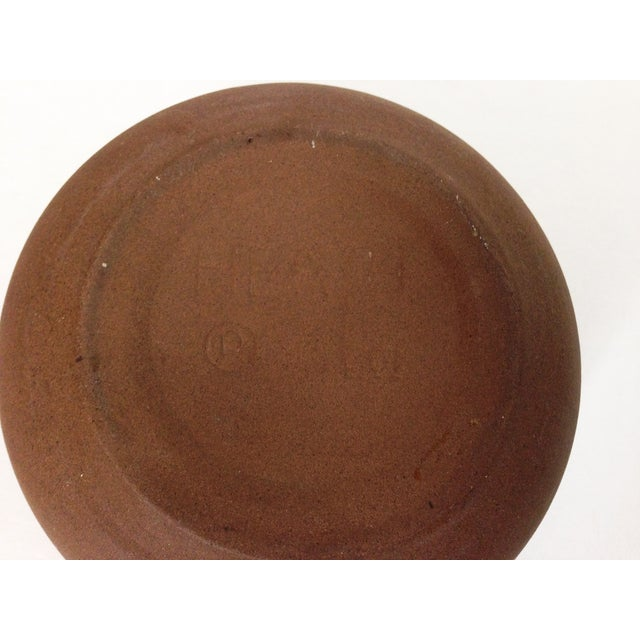 Heath Ceramics Orange Ashtray - Image 5 of 5