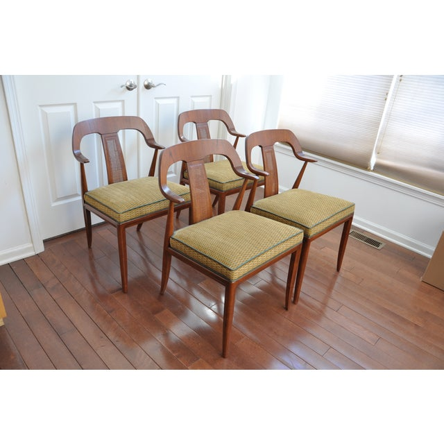 Jens risom dining chairs set of 4 chairish - Jens risom dining chairs ...