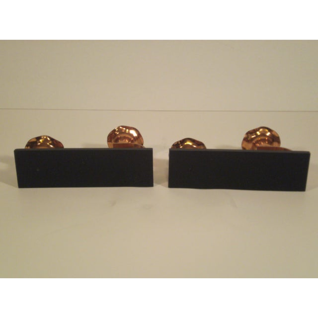 Vintage Copper & Plexiglass Candle Holders - Pair - Image 8 of 8