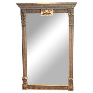 Stately Empire Lion Mirror