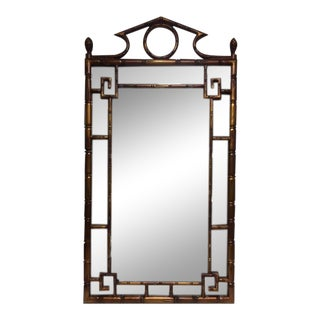 Weiman Asian Faux Bamboo Mirror
