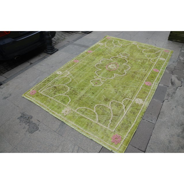 "Image of Turkish Oushak Rug - 8'8"" x 5'5"""