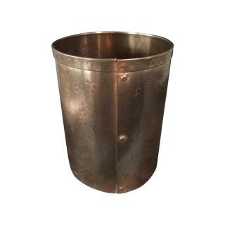 Modern Artisan Copper Pen Cup Holder