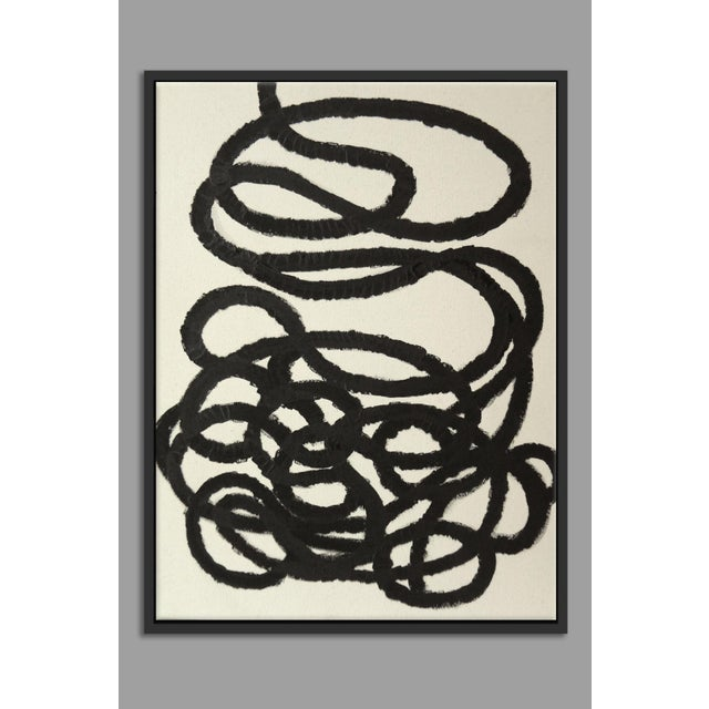 """Abstract Squiggle No. 2"" Fine Art Giclée Print - Image 2 of 3"