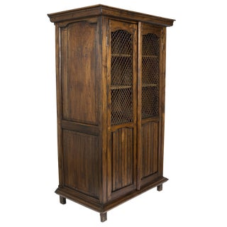 Vintage Reclaimed Wood Cabinet