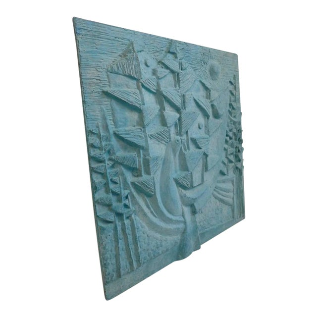 Large Design Technics Tile Relief - Image 1 of 5