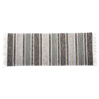 Swedish Handwoven Runner - 2′5″ × 6′9″