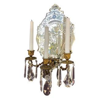 Venetian Mirror Wall Sconce