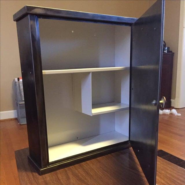 HG Dougherty 1920s Steel Medicine Cabinet - Image 5 of 6