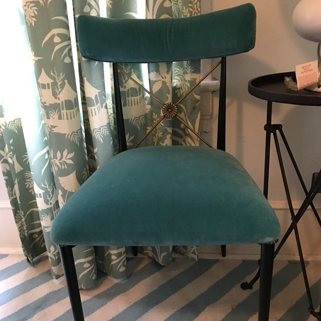 Jonathan Adler Rider Dining Chairs - A Pair - Image 5 of 7