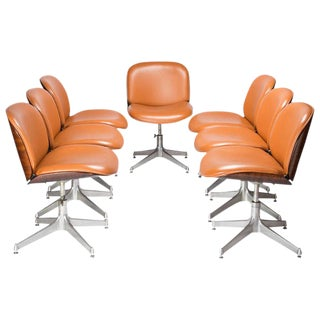 Set of 7 Office Chairs by MIM