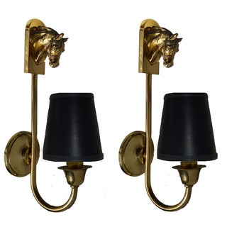 Vintage Guillemard French Sconces - Pair