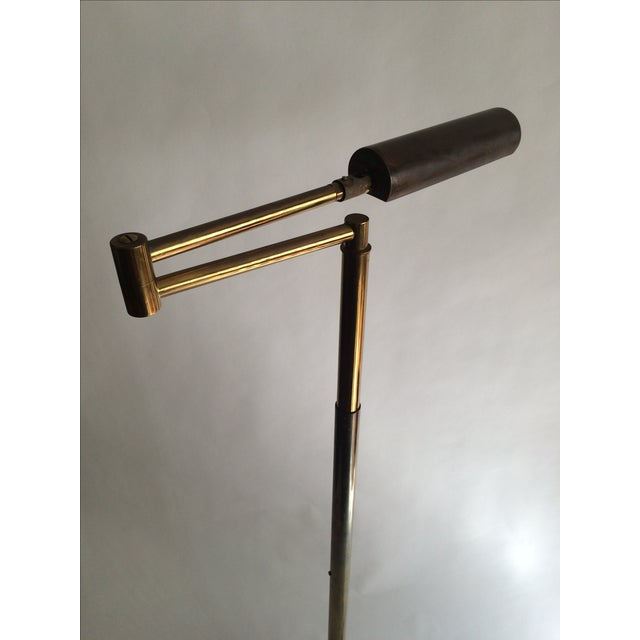 Image of Koch + Lowy Brass Floor Lamp