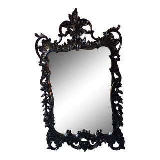 Woodson & Rummerfield Black Lacquered Mirror