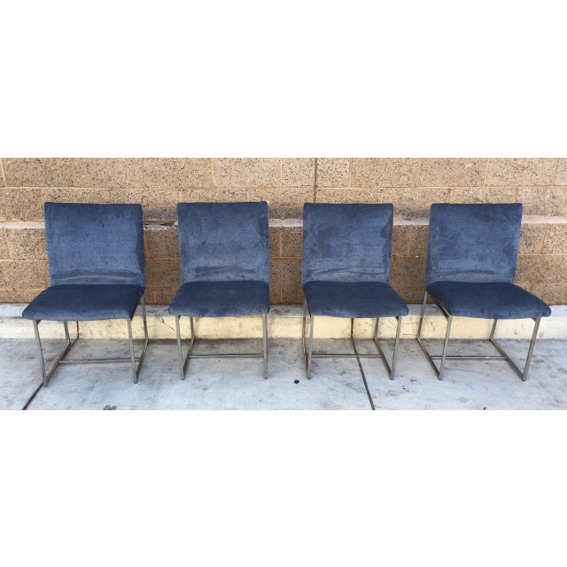 Milo Baughman Vintage Dining Chairs - Set of 4 - Image 3 of 5