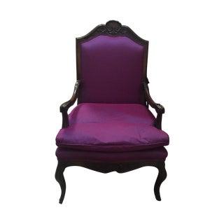 Purple Bergere Armchair