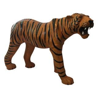 Vintage Leather Tiger