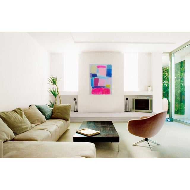 Susie Kate Colorful, Original Abstract Painting - Image 2 of 3