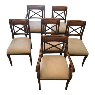 Baker Regency Dining Room Chairs - Set of 6