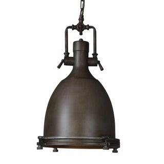 Vintage Industrial Black Dome Kitchen Pendant Hang