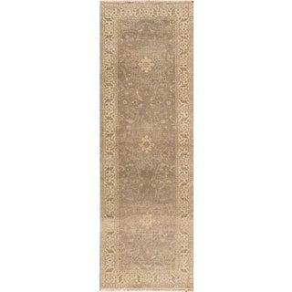 Apadana - 21st Century Modern Gabbeh Rug, 3' x 9'