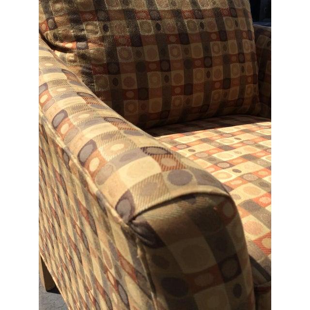 Image of Beige & Brown Craft Master Club Chair