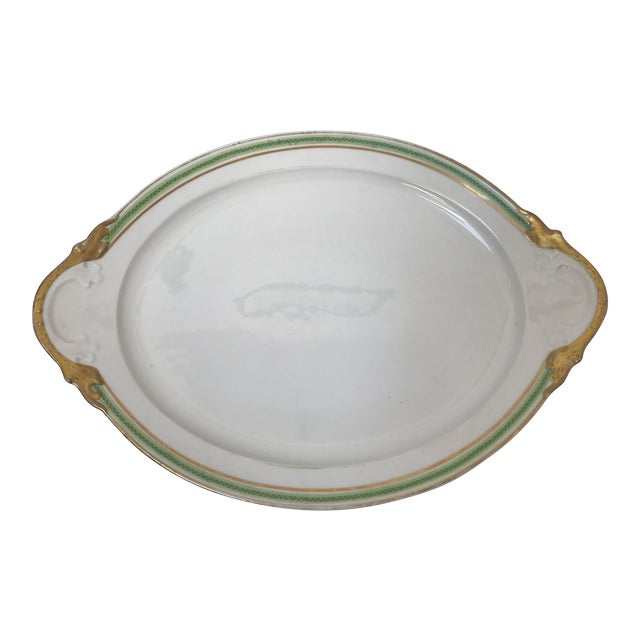 Limoges France for Marshall Fields Serving Platter - Image 1 of 7