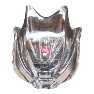 Vintage Orrefors Swedish Crystal Bowl